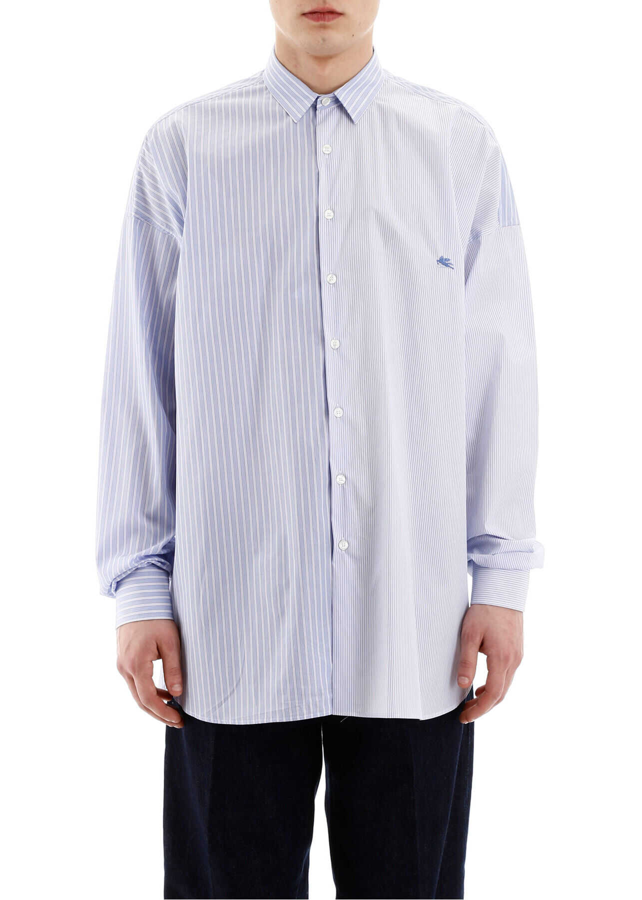 ETRO Multi Stripes Shirt AZZURRO