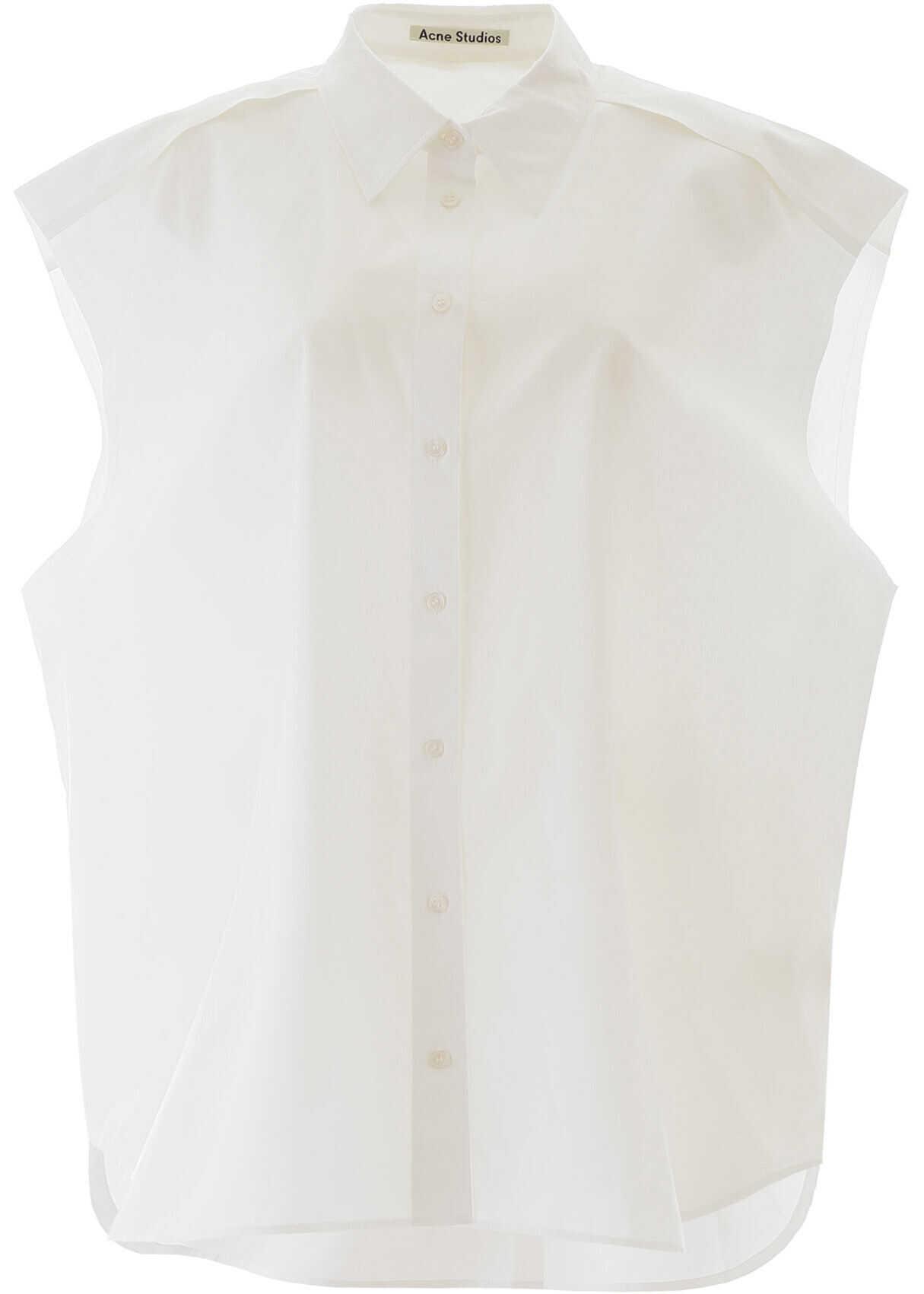 Acne Studios Oversized Shirt WHITE