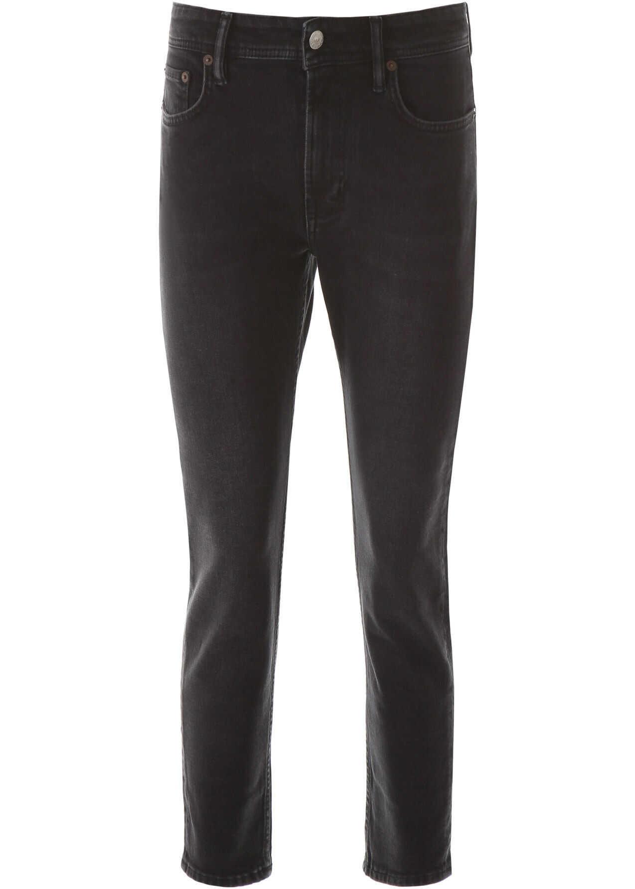 Acne Studios Melk Jeans USED BLACK