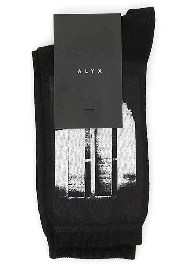 Alyx 1017 9Sm World Trade Center Socks BLACK