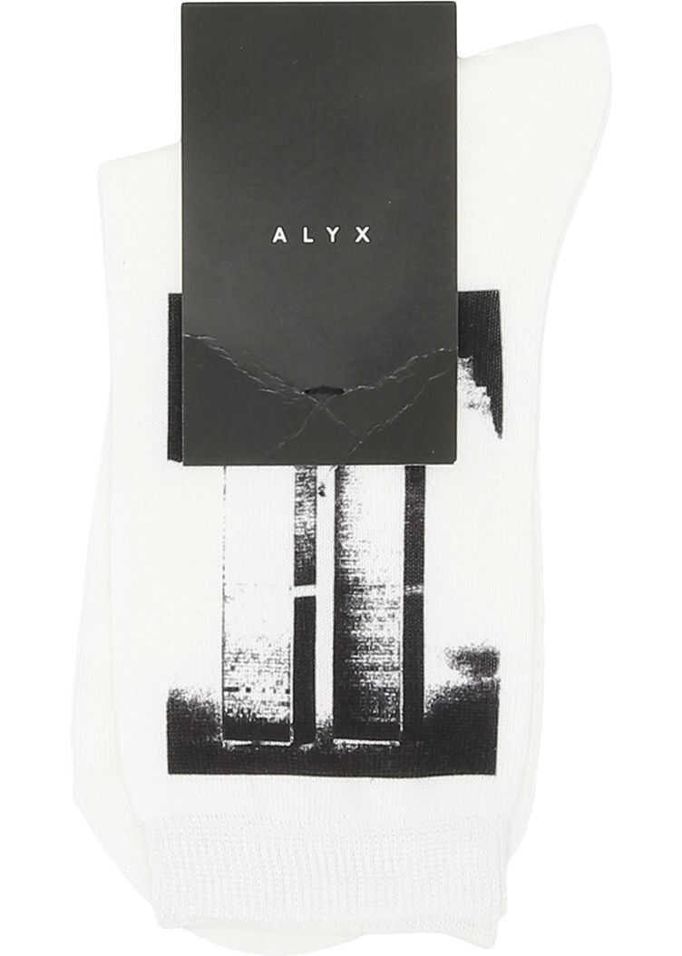 Alyx 1017 9Sm World Trade Center Socks WHITE