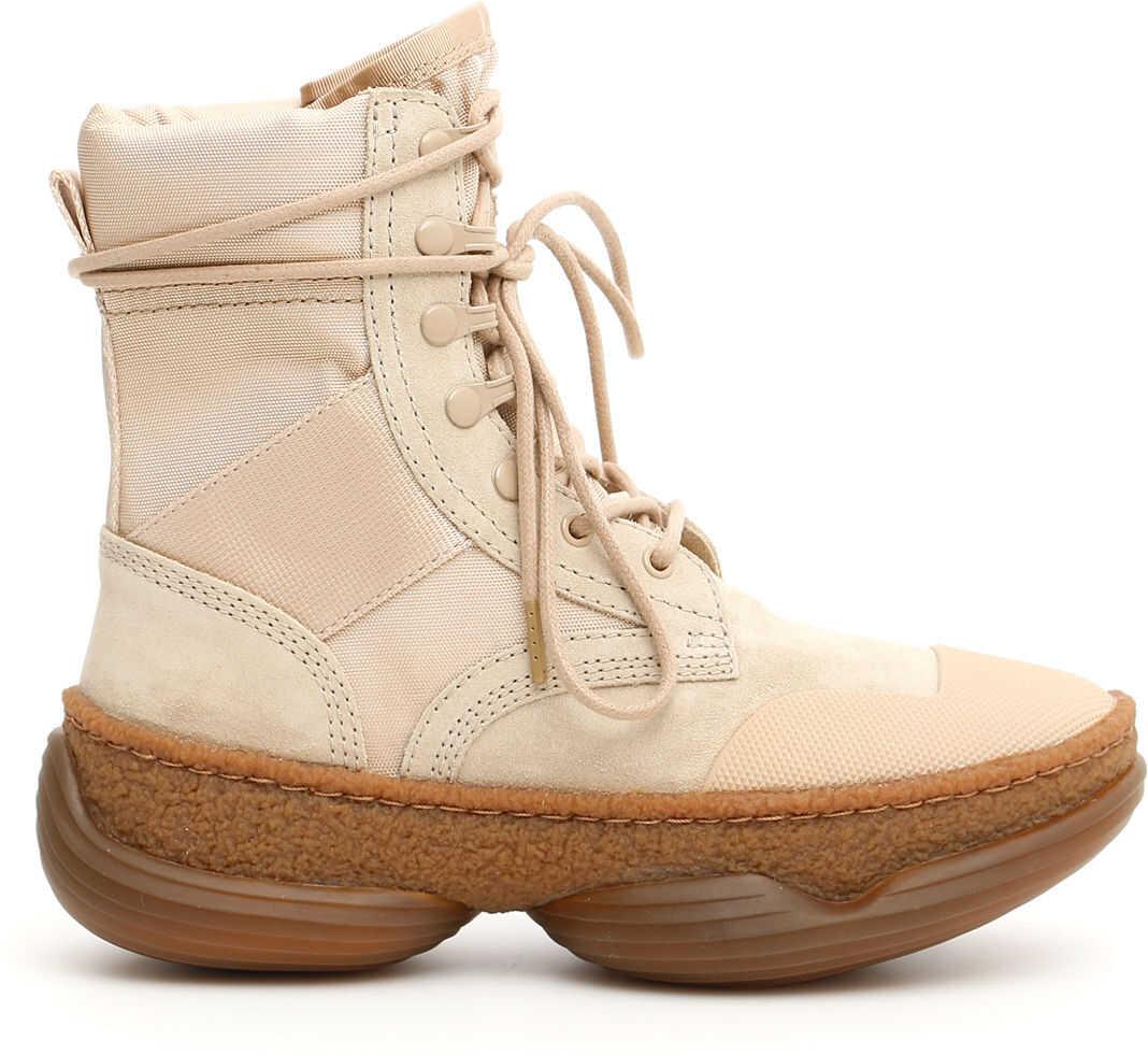 Alexander Wang A1 Combat Boots SAND