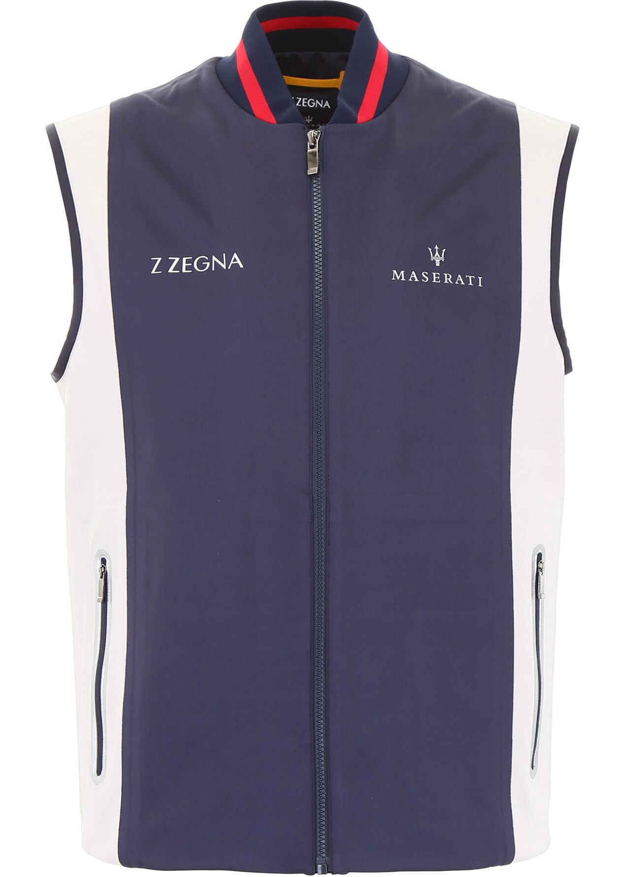 Z Zegna Maserati Vest BLU SCURO UNITO