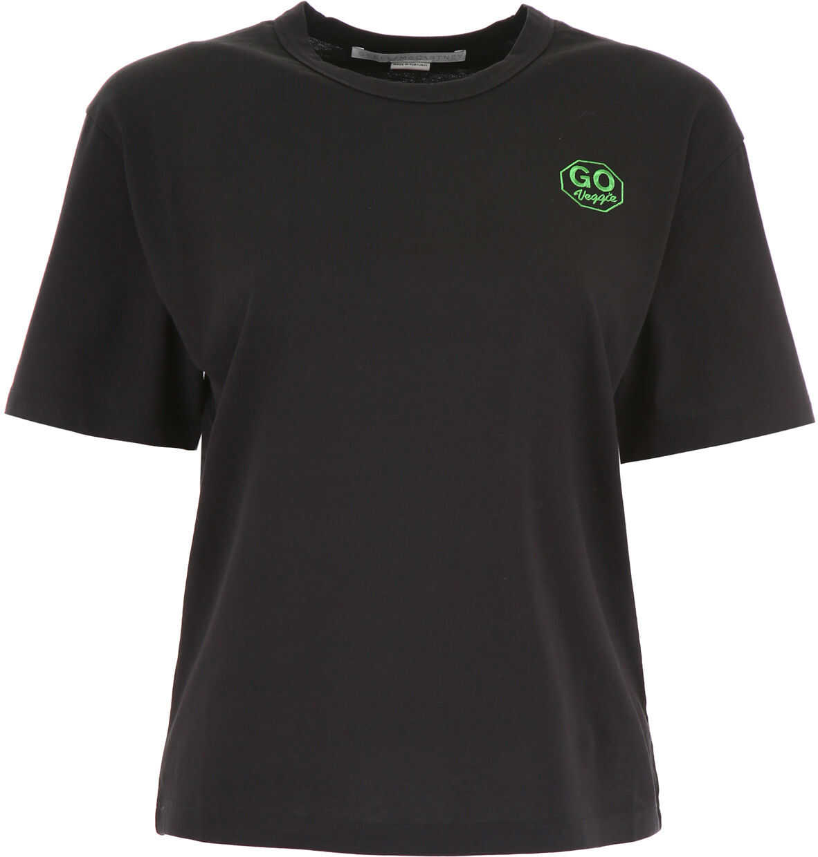 adidas by Stella McCartney Go Veggie T-Shirt BLACK