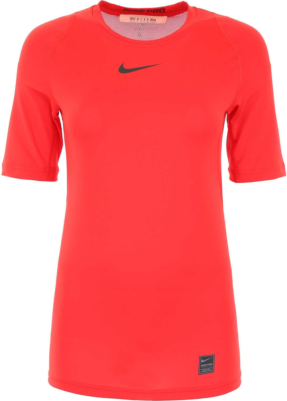 Alyx 1017 9Sm Nike Logo T-Shirt RED