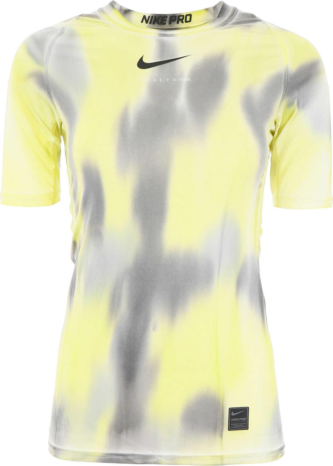 Alyx 1017 9Sm Nike Logo T-Shirt NEON CAMO