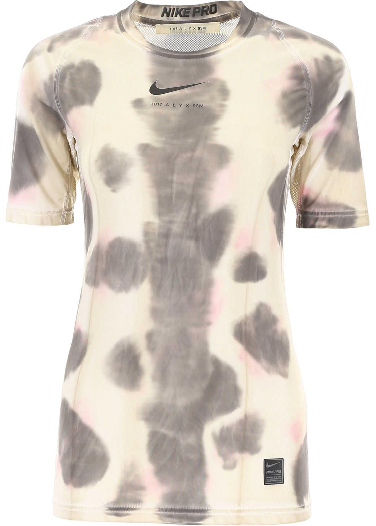 Alyx 1017 9Sm Nike Logo T-Shirt TAN CAMO