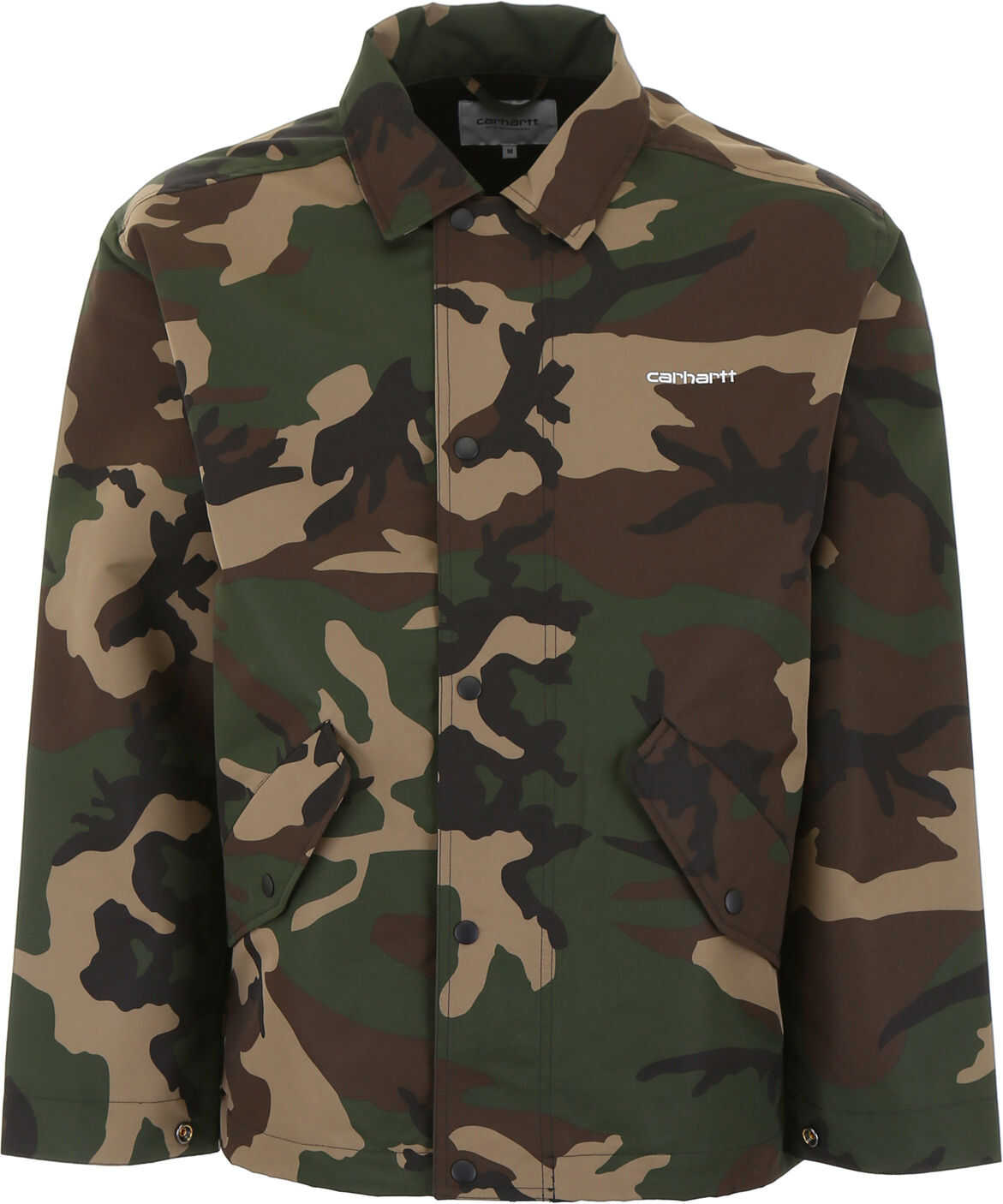 Carhartt Camouflage Logo Jacket CAMOU LAUREL