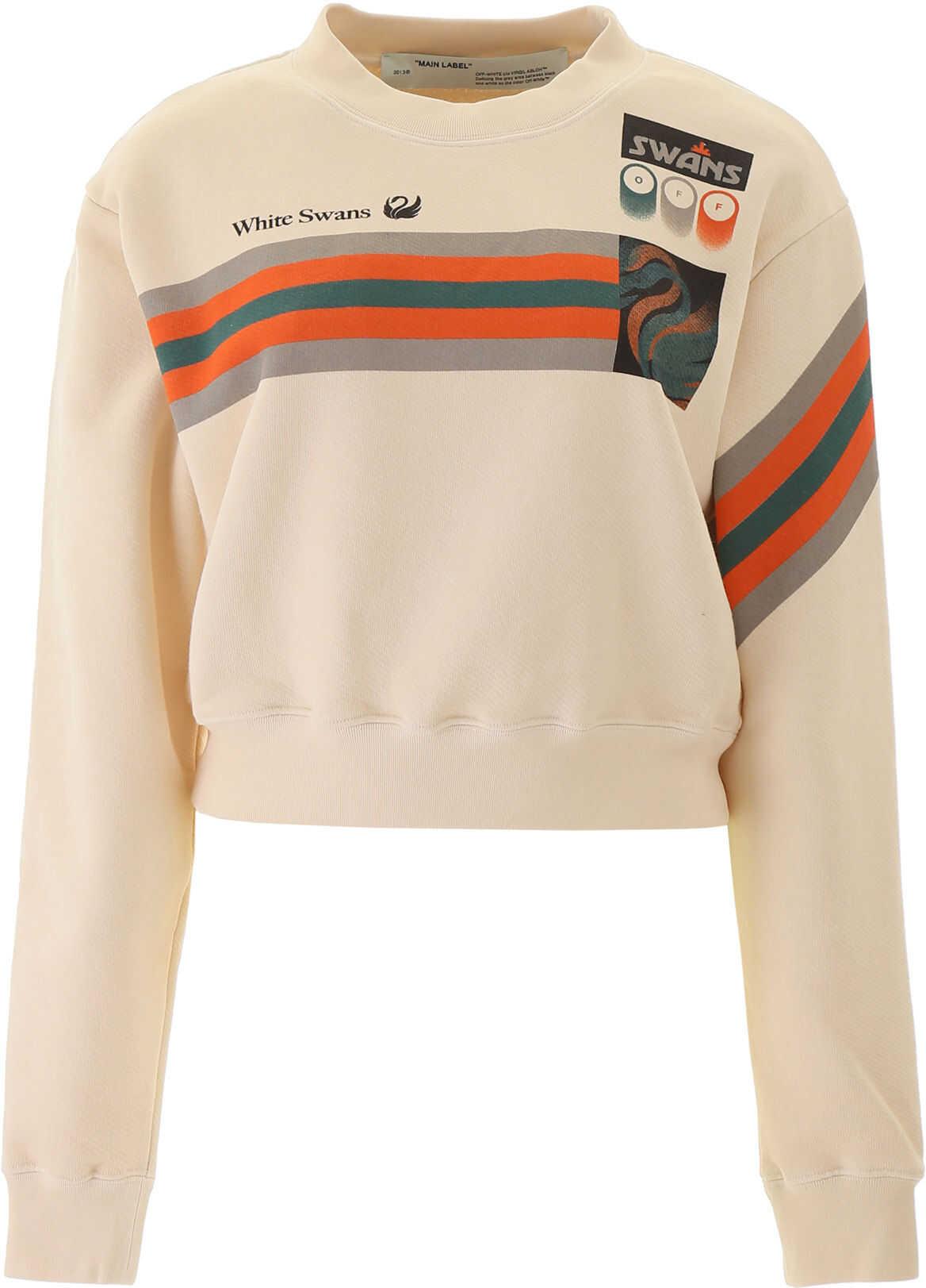 Off-White Printed Sweatshirt WHITE MULTICOLOR