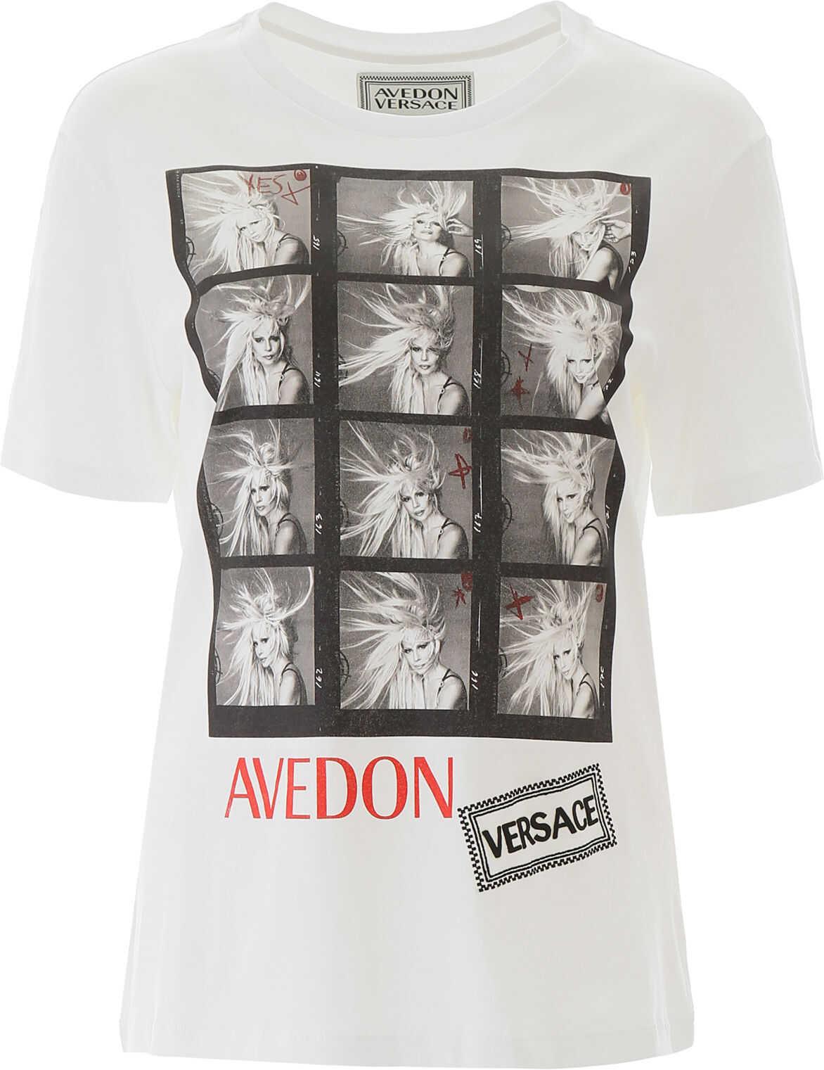 Versace Avedon X T-Shirt BIANCO