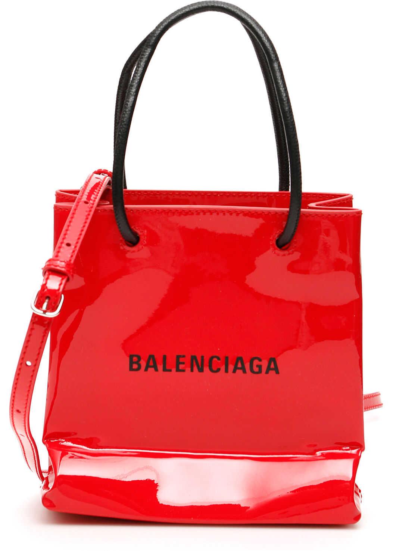 Balenciaga Tote Bag Xxs BRIGHT RED