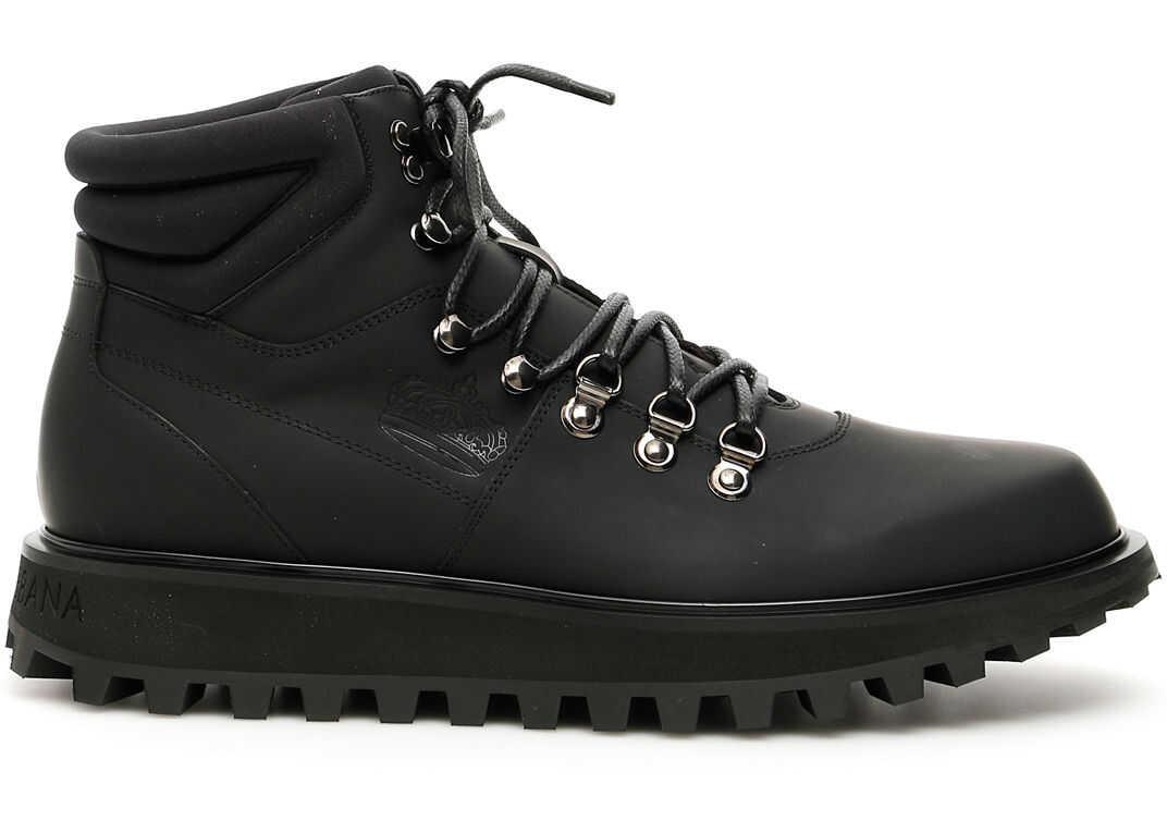 Dolce & Gabbana Vulcano Boots NERO NERO