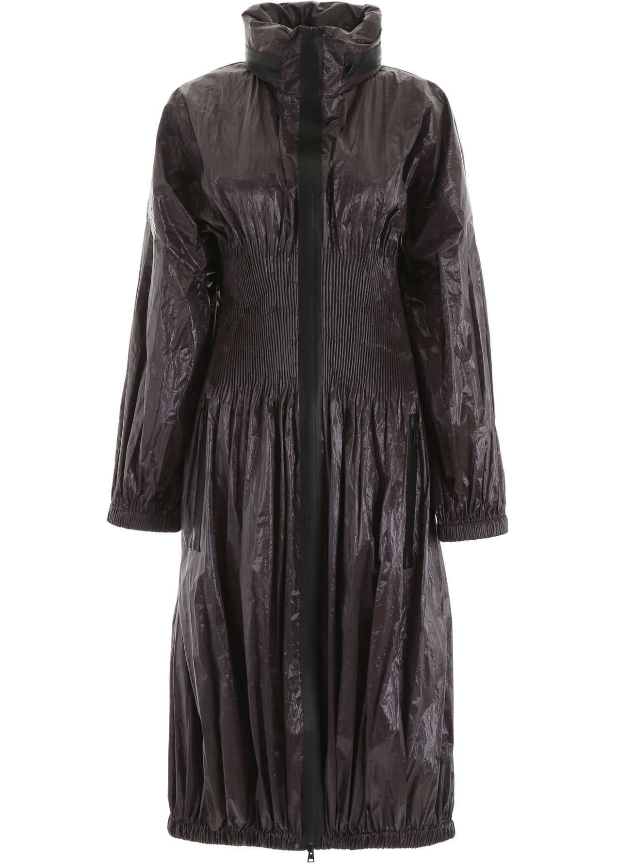 Bottega Veneta Cellophane Parka DARK BROWN