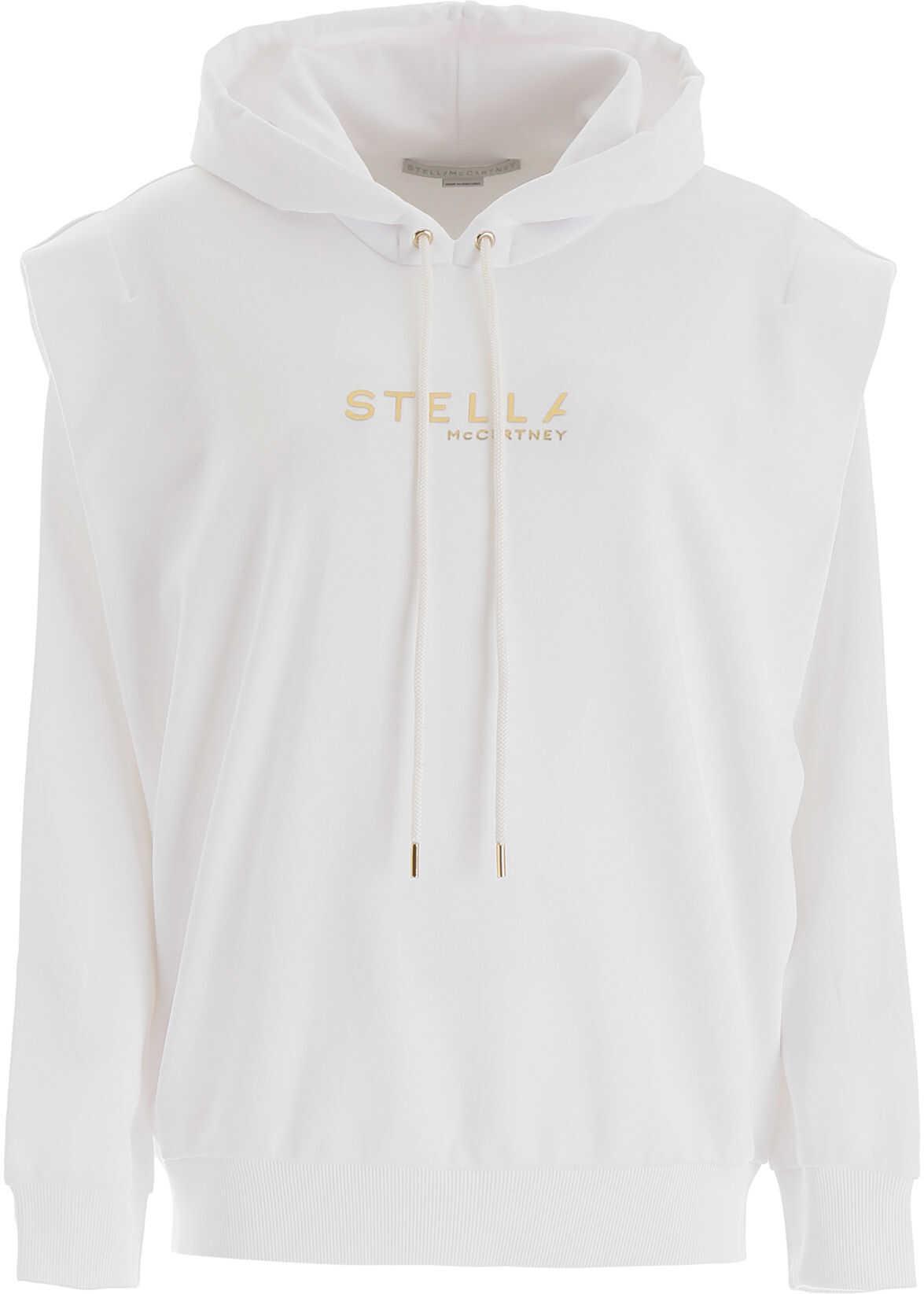 adidas by Stella McCartney New Logo Hoodie PURE WHITE