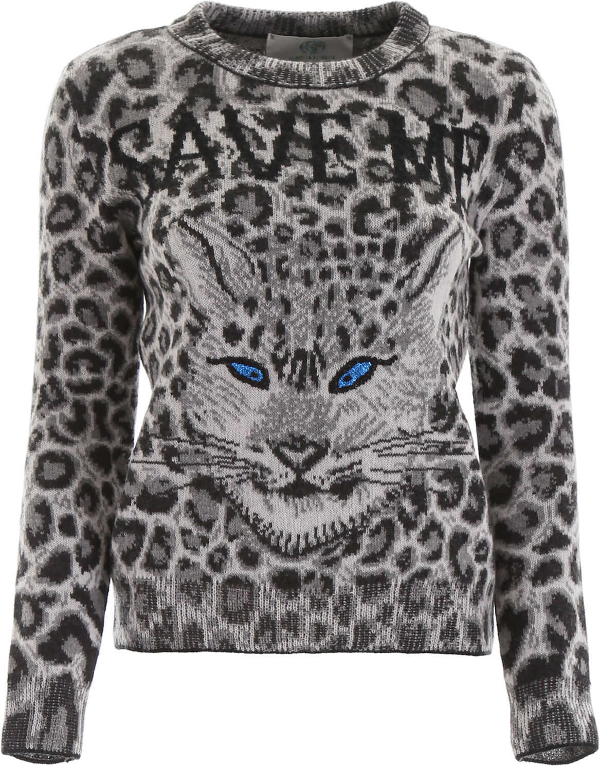 Alberta Ferretti Jaguar Save Me Pull BLACK IVORY