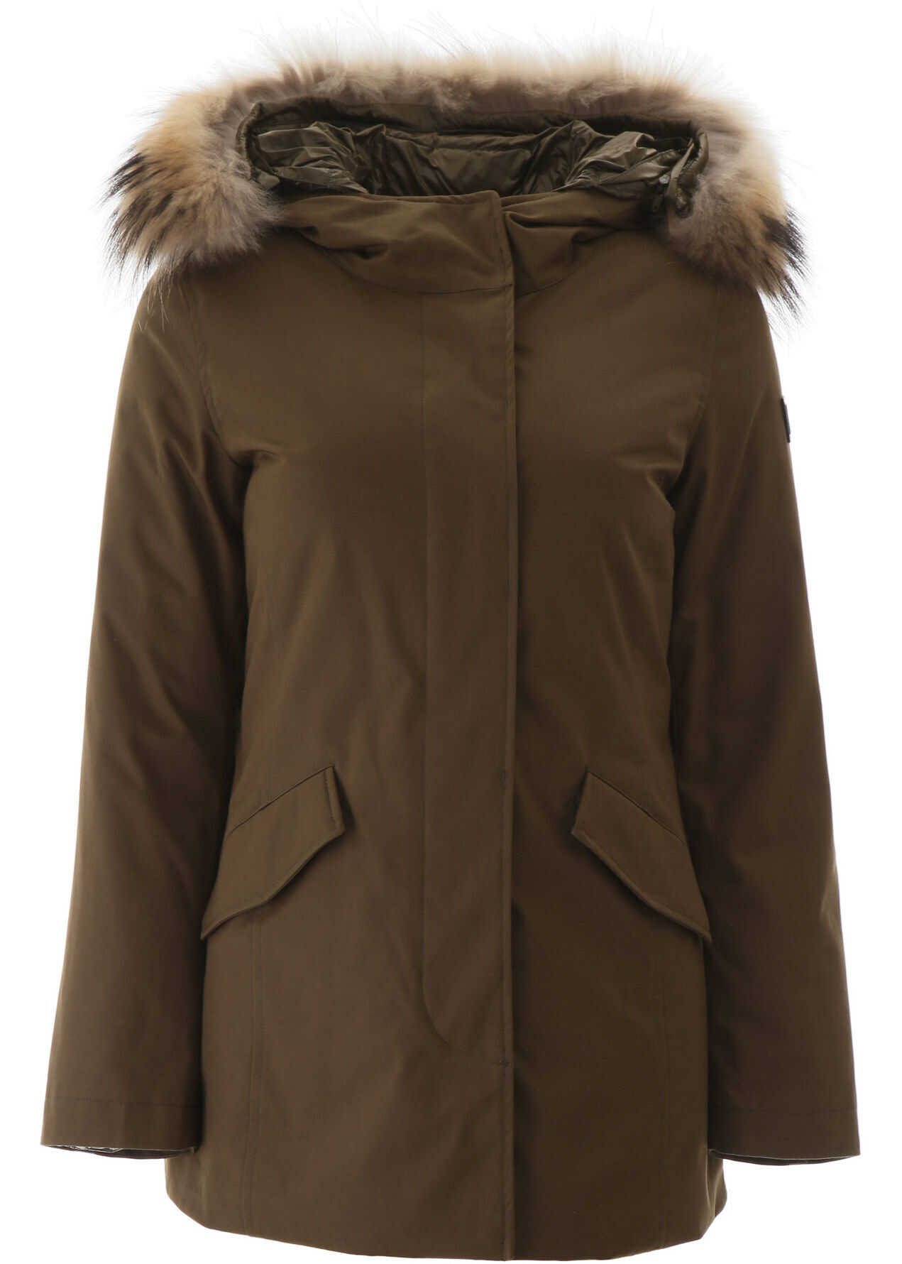 Woolrich Artic Parka With Murmasky Fur ARMY OLIVE