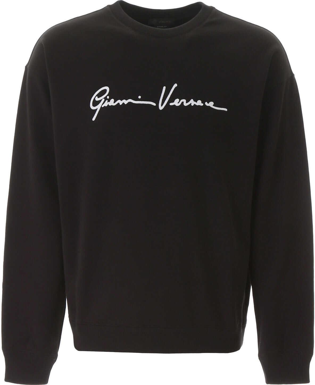 Versace Signature Sweatshirt NERO