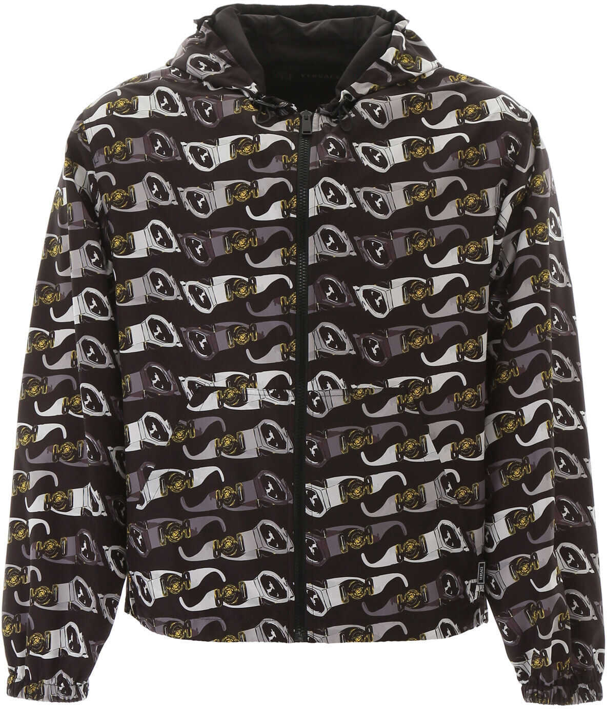 Versace Medusa Biggie Print Jacket FDO NERO STAMPA imagine