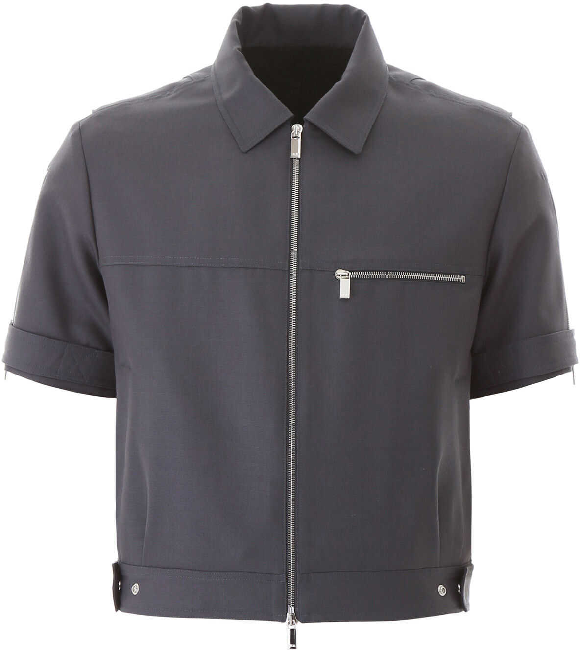 Dior Short-Sleeved Jacket GREY imagine