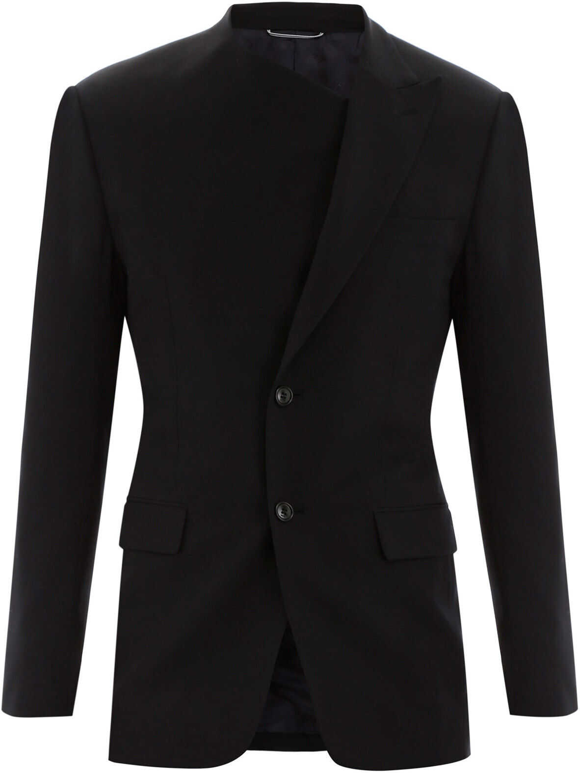 Dior Asymmetrical Blazer NAVY BLUE imagine