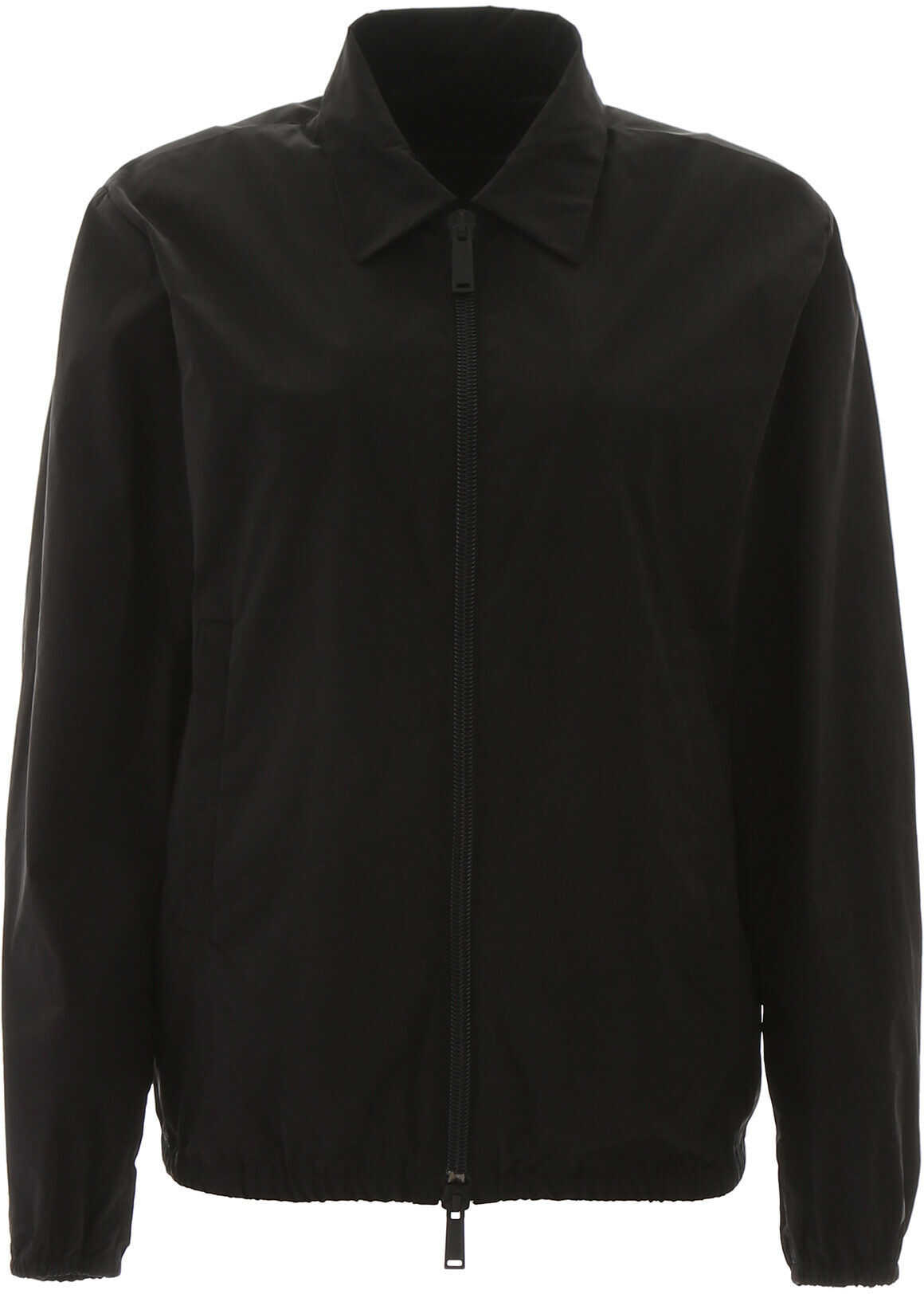 DSQUARED2 Printed Windbreaker BLACK