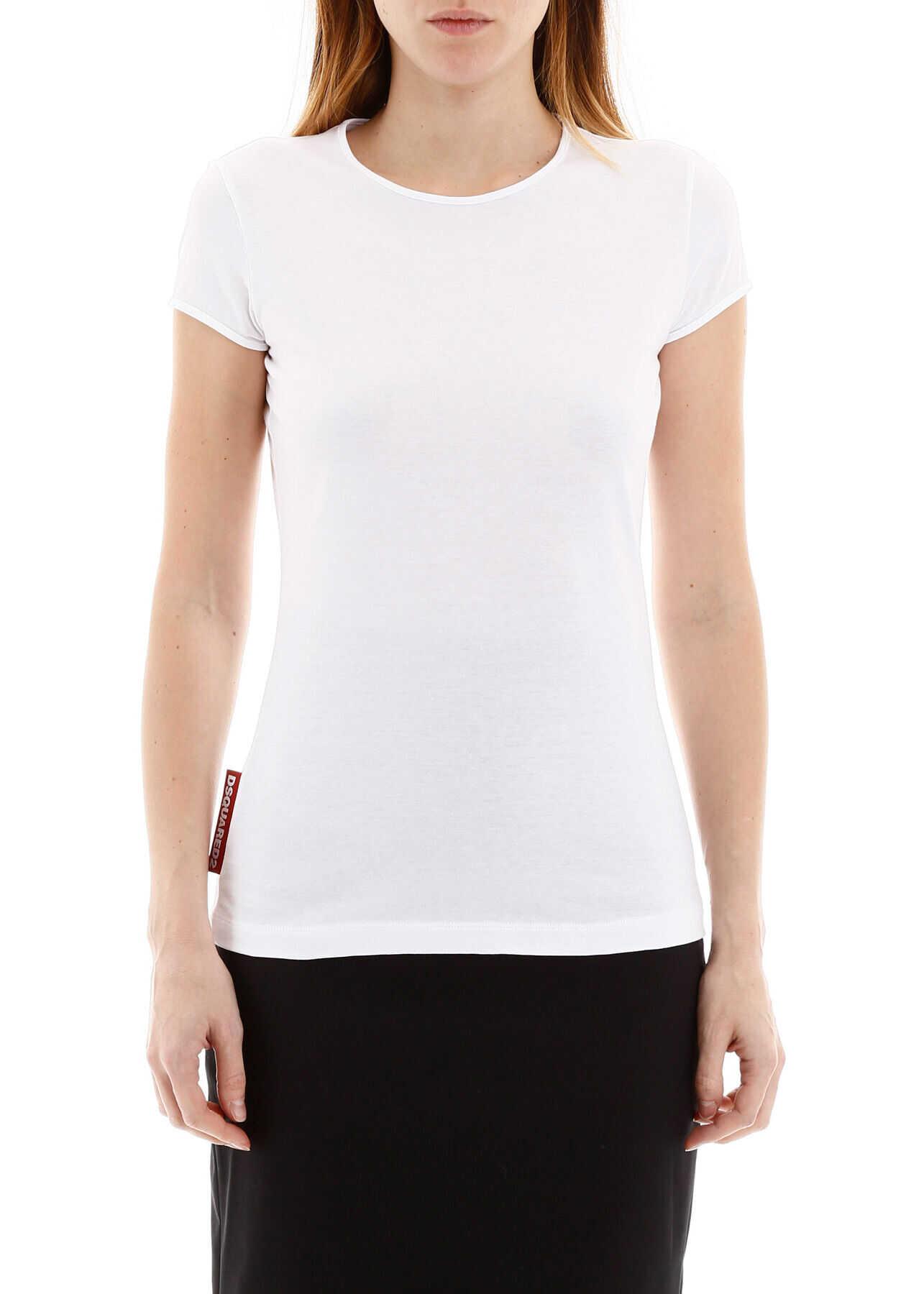 DSQUARED2 Basic T-Shirt WHITE