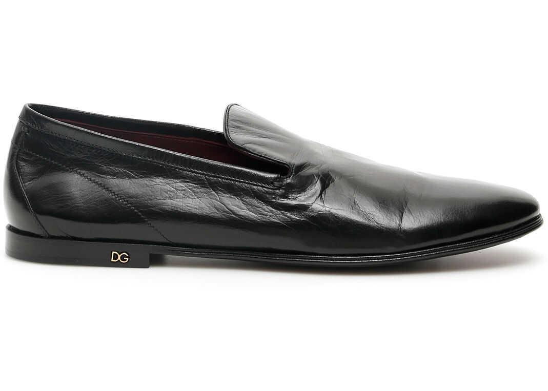 Dolce & Gabbana Erice Loafers NERO