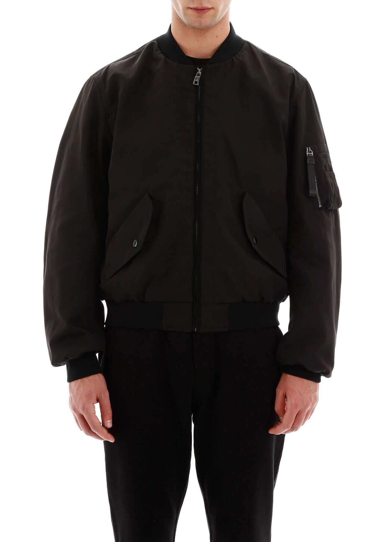 Dolce & Gabbana Heritage Bomber Jacket NERO