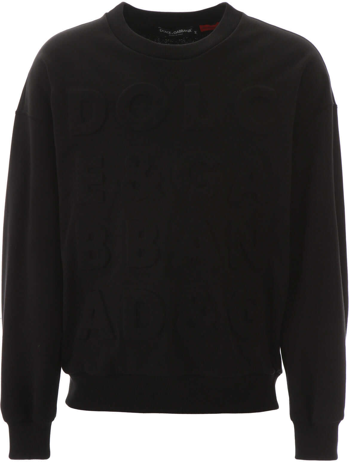 Dolce & Gabbana Logo Sweatshirt NERO