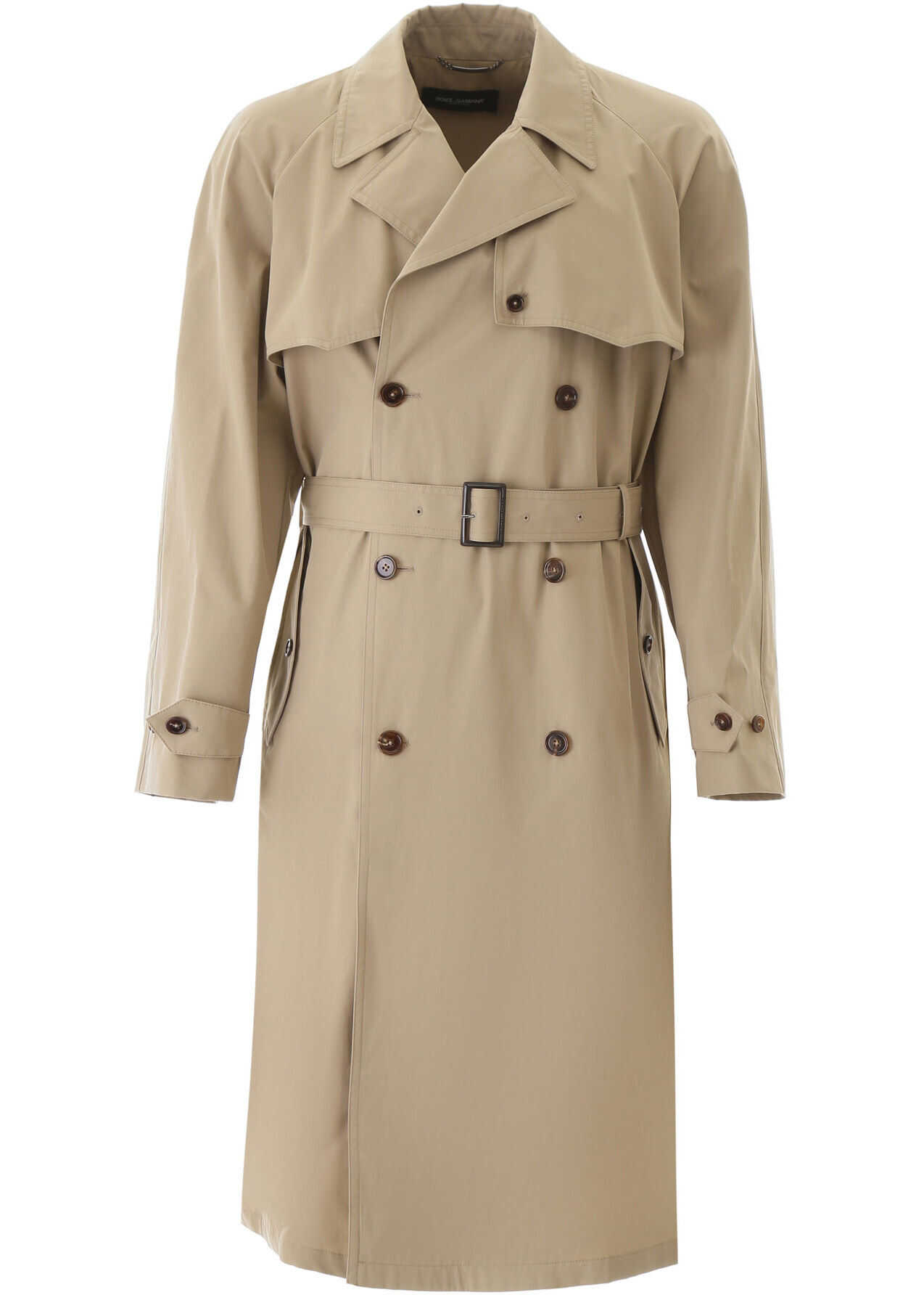 Dolce & Gabbana Cotton Trench Coat CORDA 1 imagine