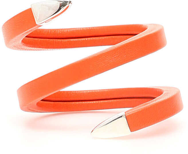Bottega Veneta Spiral Bracelet ORANGE