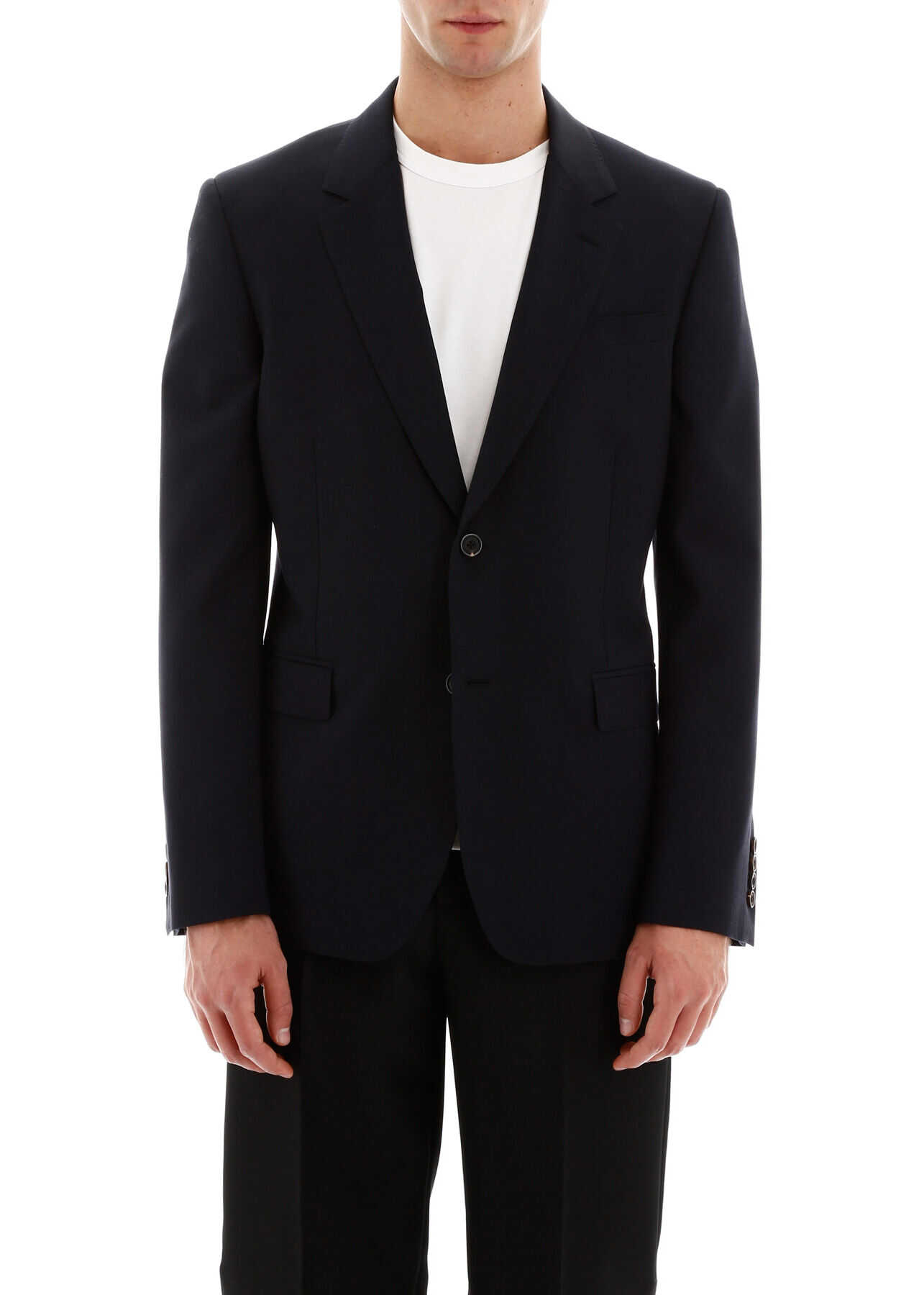 Alexander McQueen Wool Jacket NAVY imagine