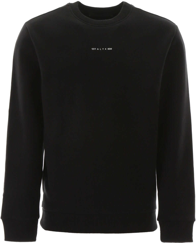 Alyx 1017 9Sm Visual Crewneck Sweatshirt BLACK
