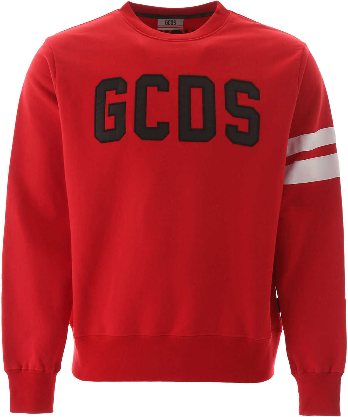 GCDS Logo Sweatshirt RED