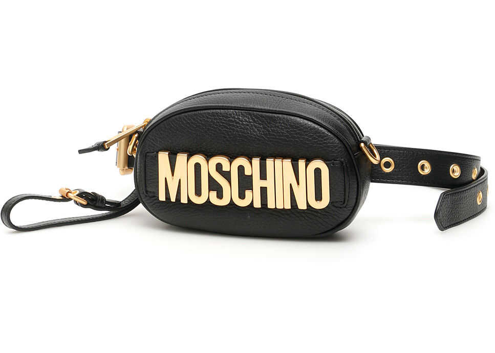 Moschino Logo Beltbag BLACK