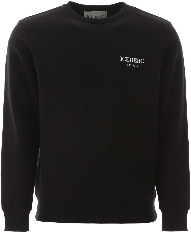 Iceberg Multi Logo Sweatshirt NERO