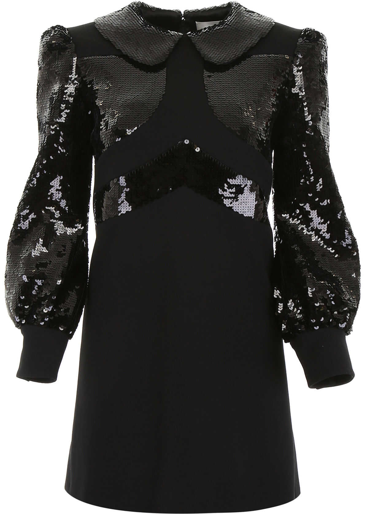 Céline Dress With Sequins BLACK