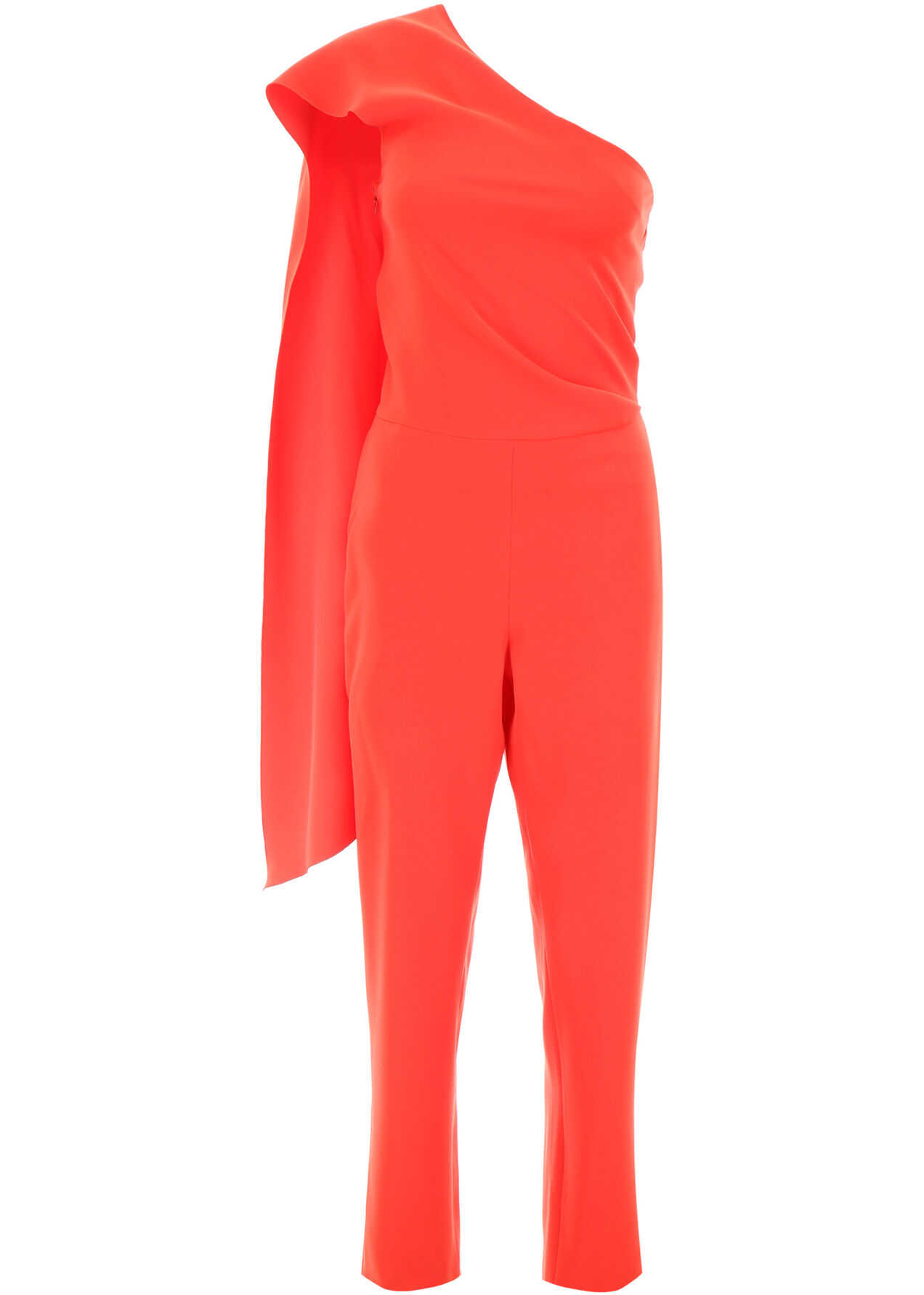 Lanvin Scarf Jumpsuit POPPY RED