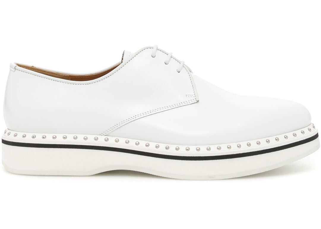 Church`s Studded Derby Shoes WHITE 1