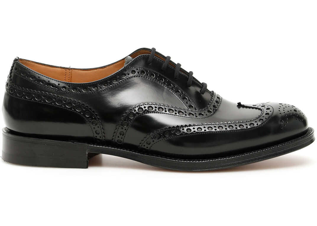 Church's Burwood Lace-Ups BLACK