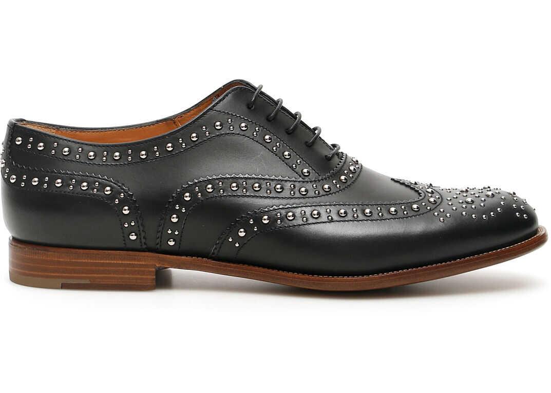 Church's Burwood 7 Met Brogue Shoes BURWOOD MET 7 DE0174 9FG BLACK imagine b-mall.ro