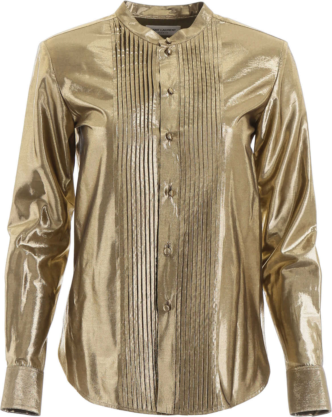 Saint Laurent Lurex Shirt OR