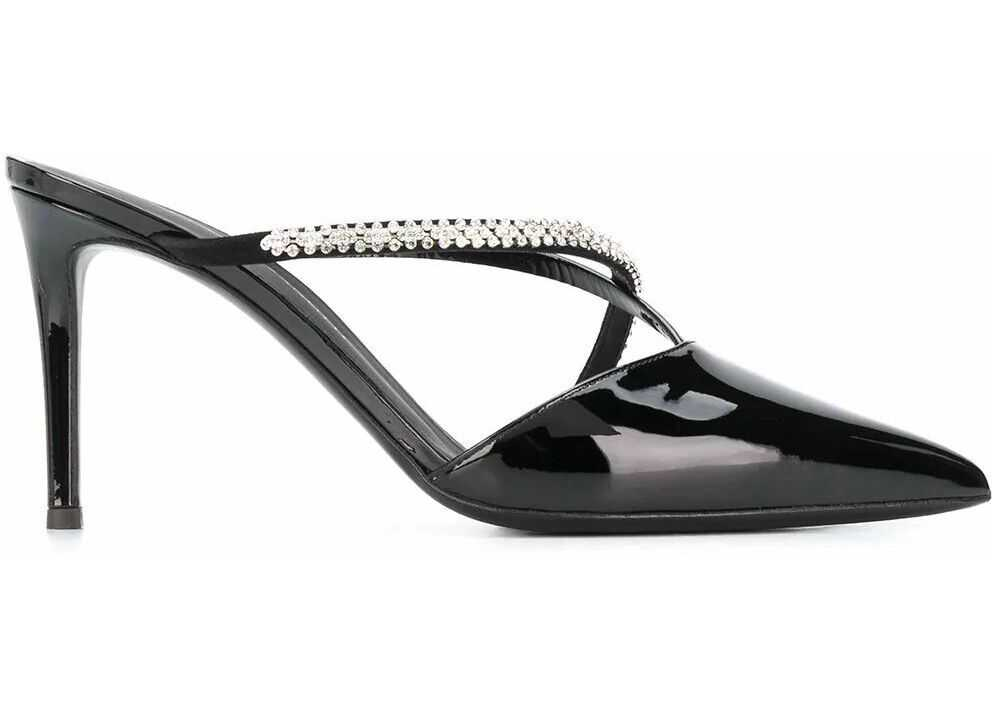 Giuseppe Zanotti Leather Heels BLACK