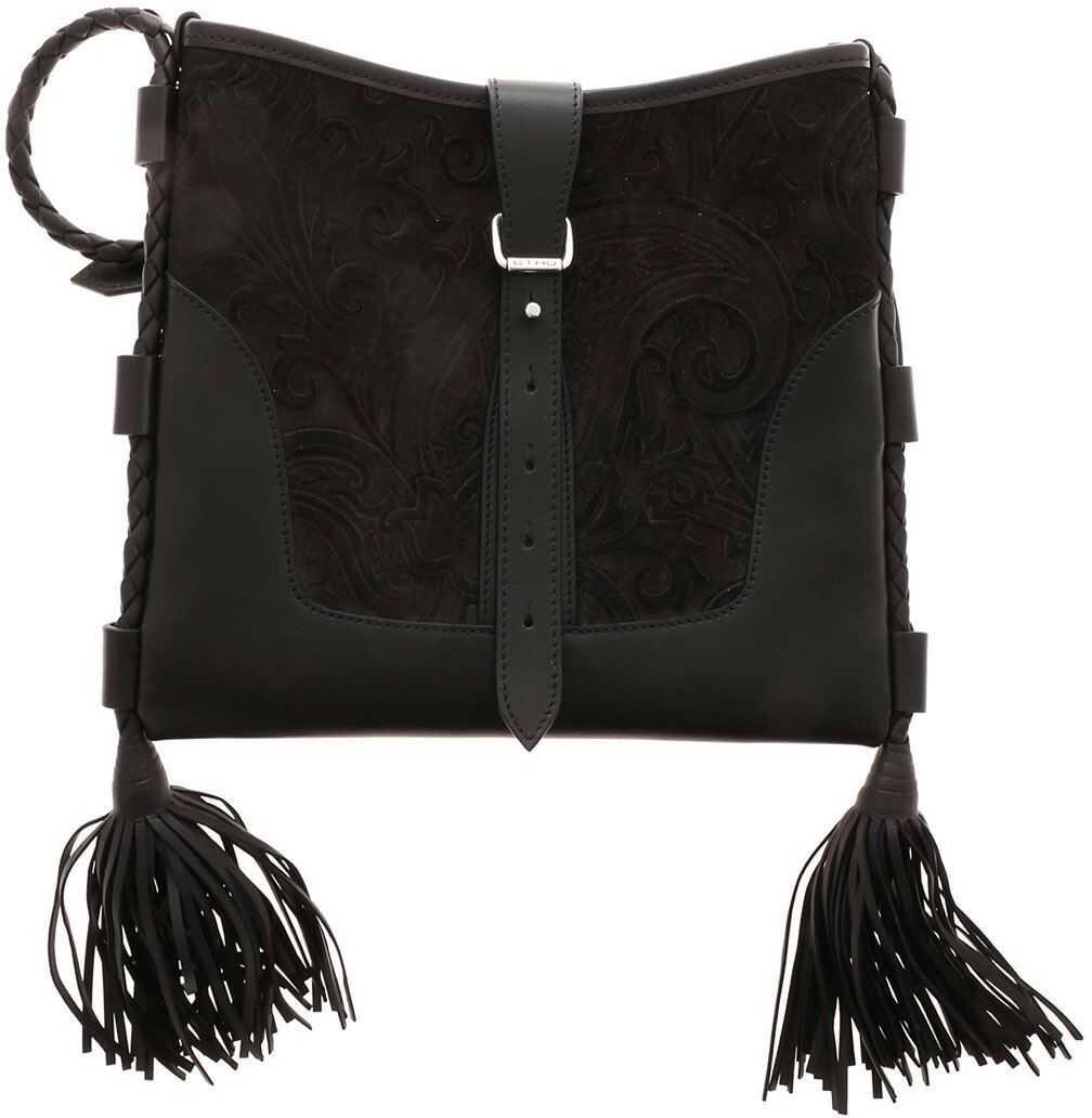 ETRO Eivissa Shoulder Bag In Black Black