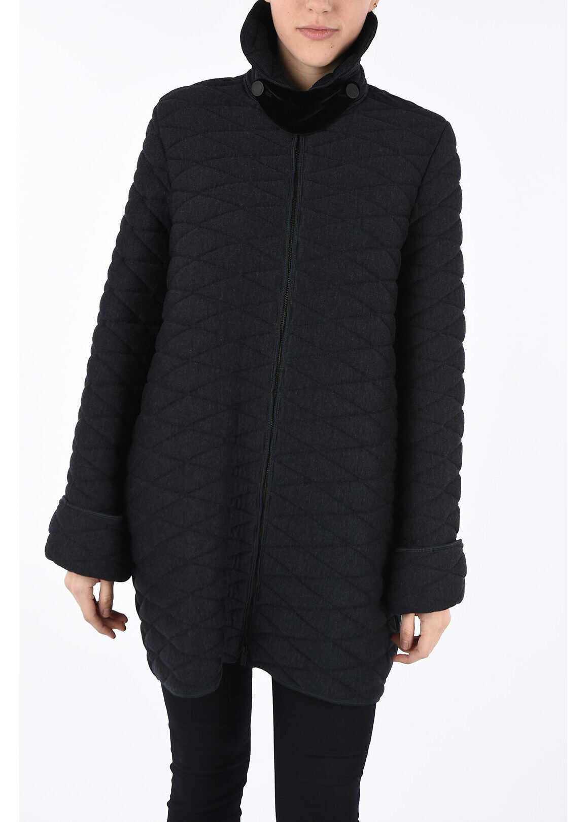 Armani COLLEZIONI Quilted Coat N/A