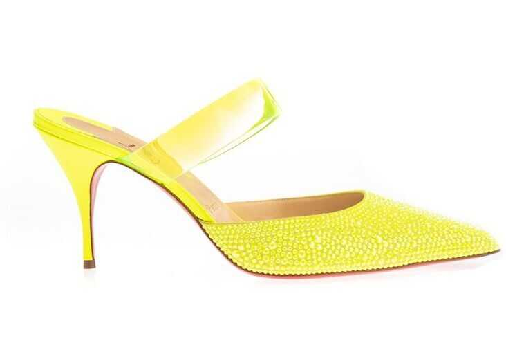 Christian Louboutin Leather Heels YELLOW