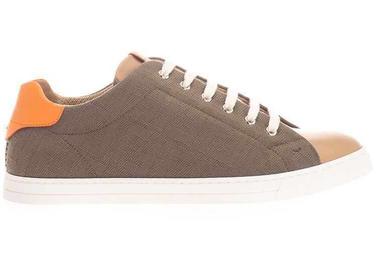 Fendi Cotton Sneakers GREEN