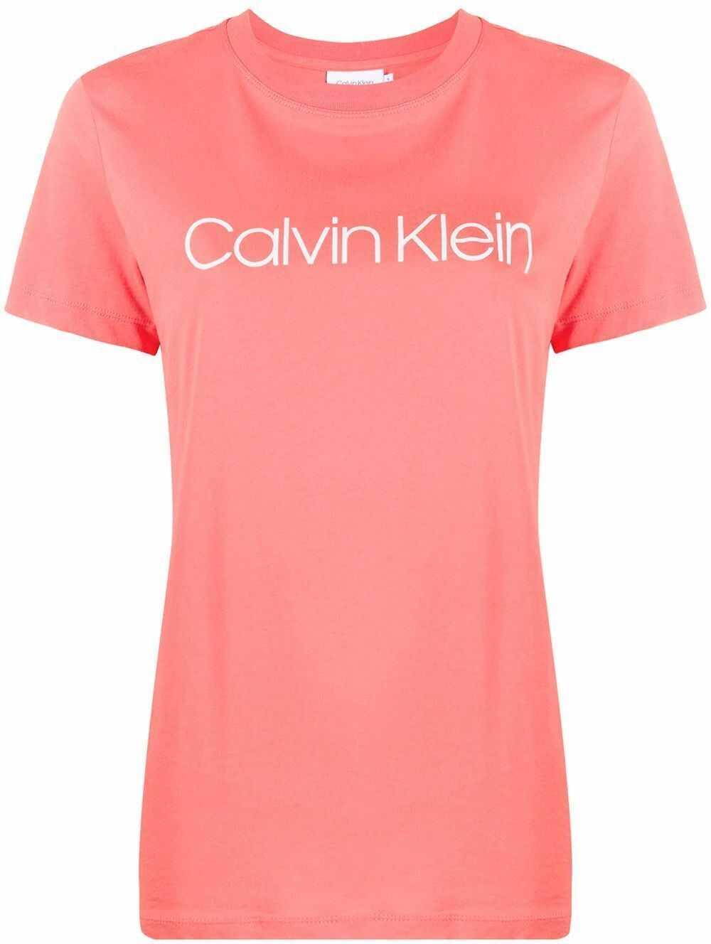 Calvin Klein Cotton T-Shirt PINK