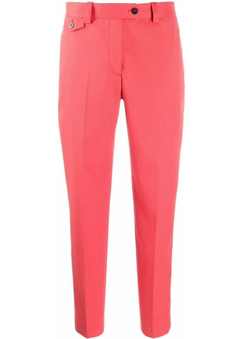Calvin Klein Polyester Pants PINK