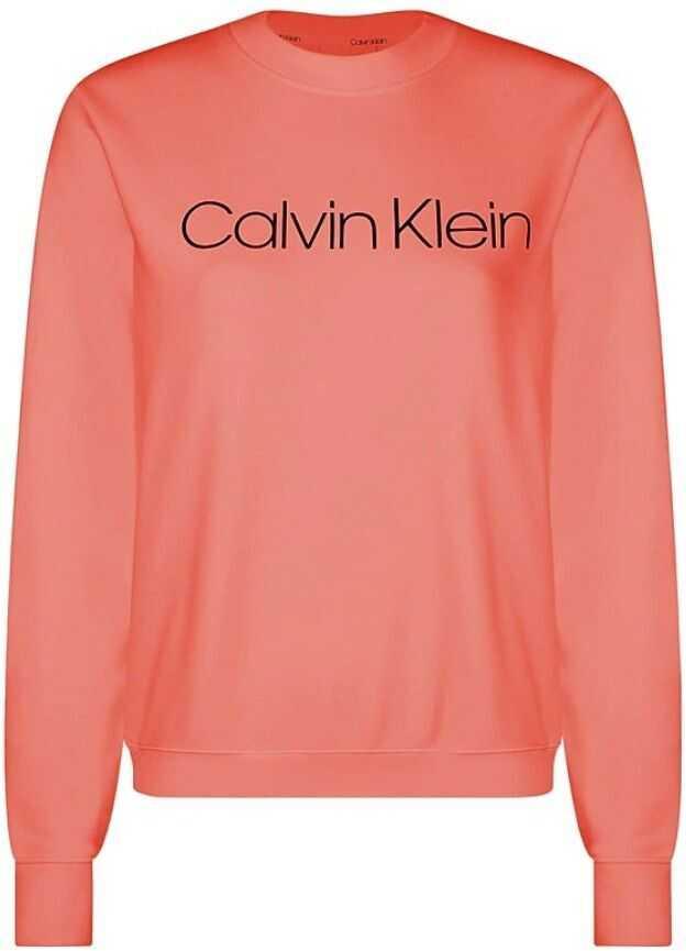 Calvin Klein Cotton Sweatshirt RED
